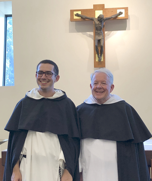 Br. Andrew Martin and Fr. Tom